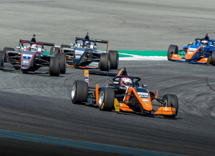 Schumacher, Cordeel, Nandy gets a good start in F3 Asian Winter Series