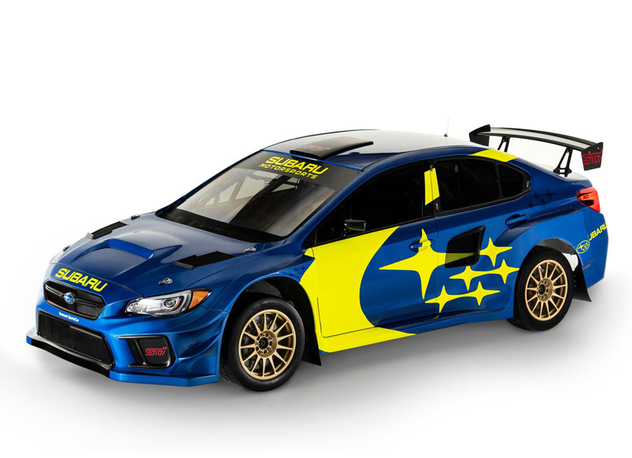 Subaru Motorsports revives retro blue-and-gold livery for rallying