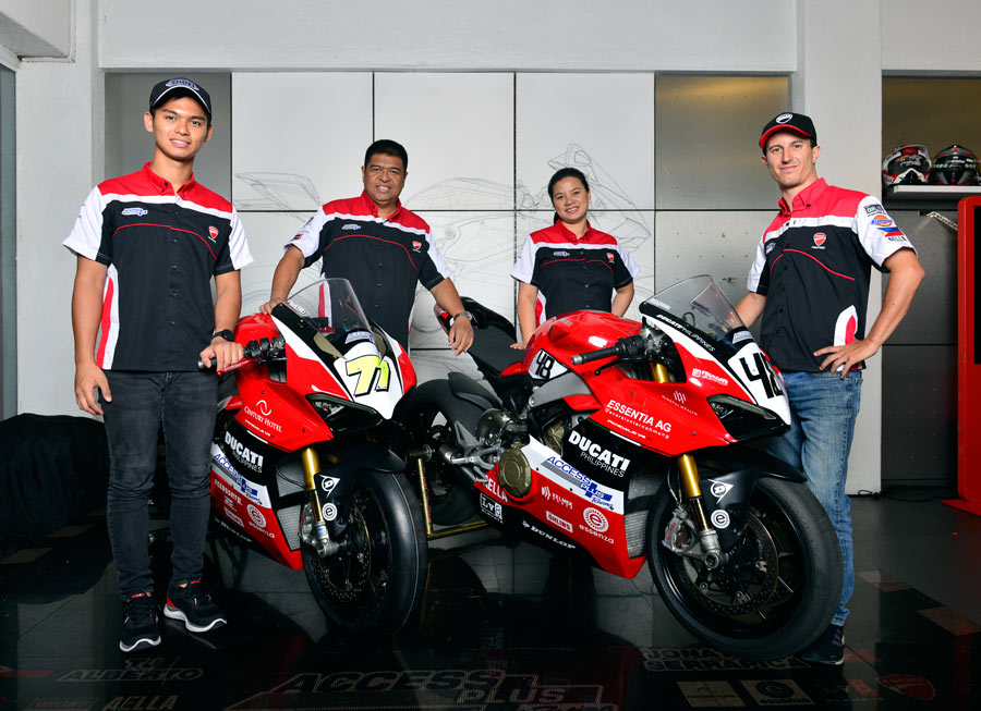 Access Plus Racing-Ducati Philippines-Essenza confirms 2-bike entry in ARRC ASB1000
