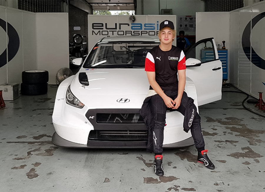 Daniel Miranda completes first test in a Hyundai i30 N TCR