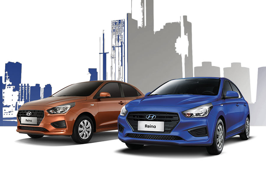 Guess how many Hyundai Reina's were sold on its first month