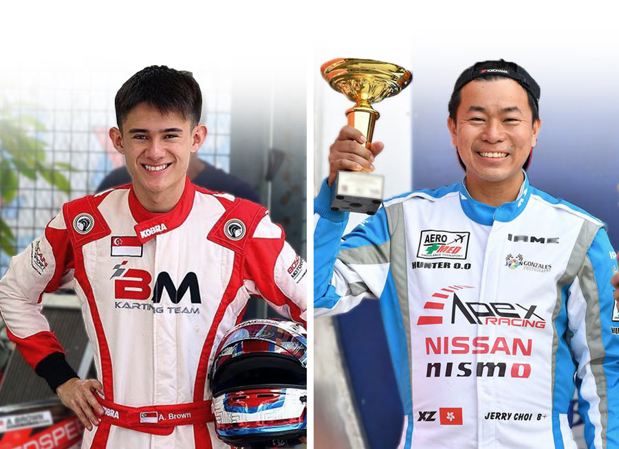 Alex Brown & Jerry Choi move up from karting to join Giti-Formula V1 grid