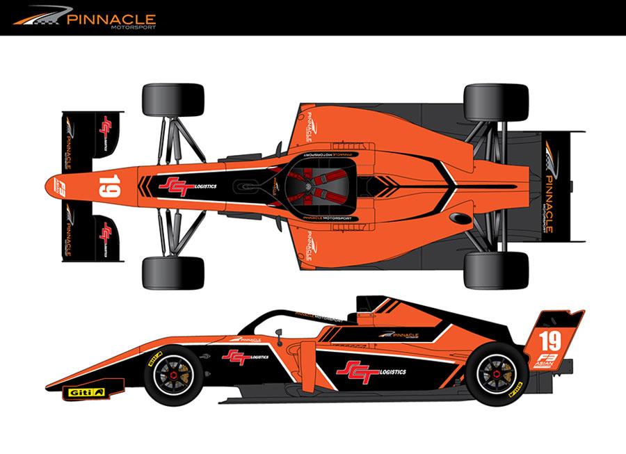 Dempsey, Smith confirmed with Pinnacle Motorsport for F3 Asian Championship