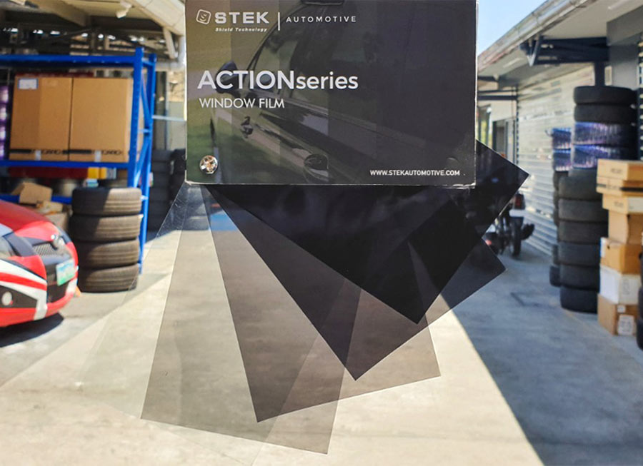 STEK offers affordable Carbon-Ceramic Window Films with 99% UV protection