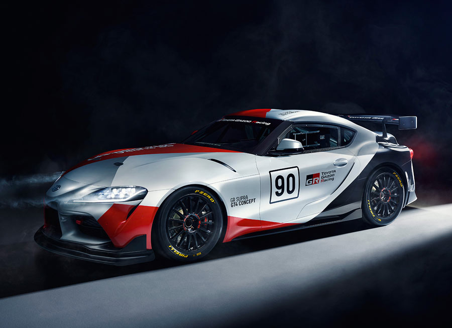 Toyota considers building GR Supra GT4 Concept for customer racing