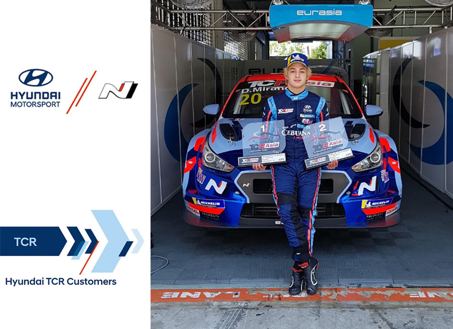Daniel Miranda now a Junior Driver for Hyundai Motorsport Customer Racing