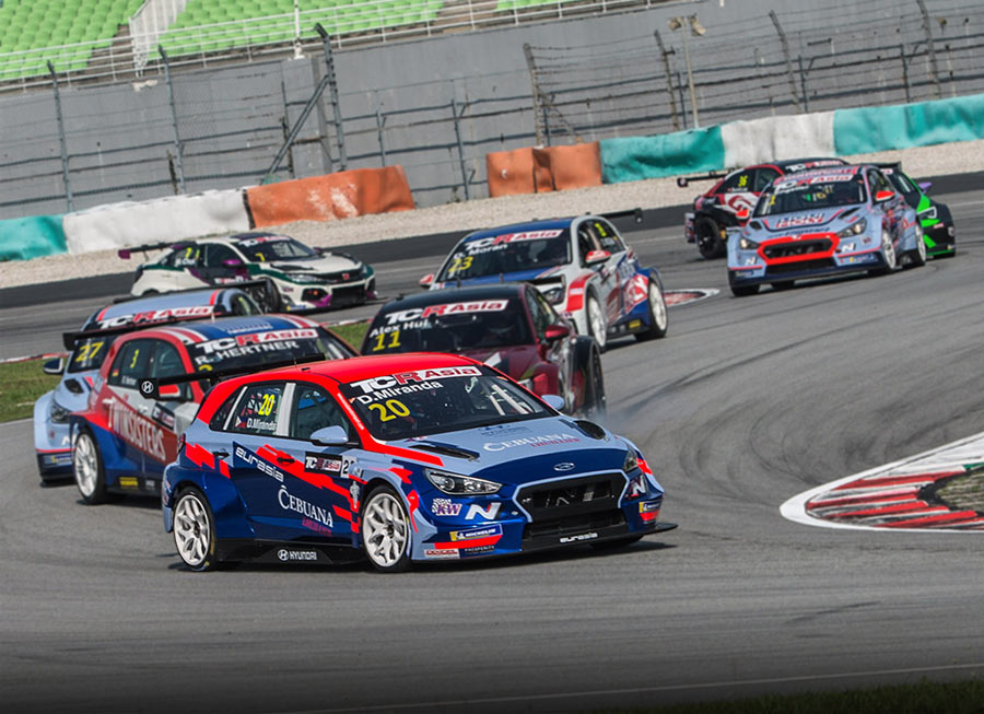 Daniel Miranda wins on his TCR Asia Series debut at Sepang