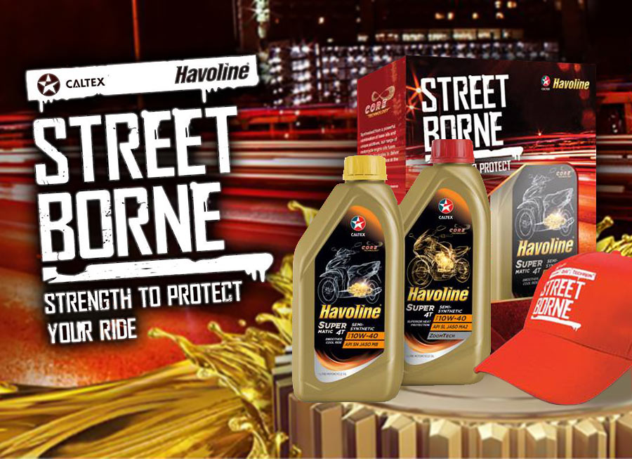 Caltex's Street Borne promo gives away free gear with 1L of motorcycle oil