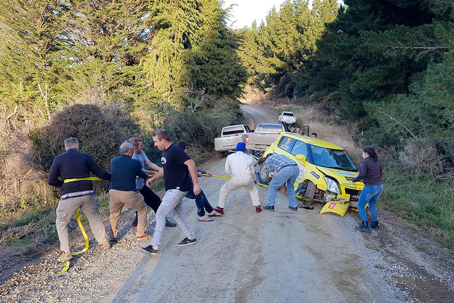 Ivan Isada Otago Rally