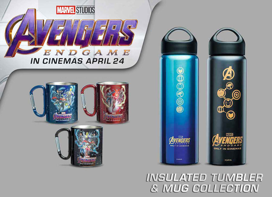 Petron's new 'Avengers: Endgame' collectibles are sadly spoiler-free