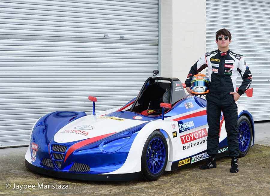 Daniel Miranda hand-picked to drive in 'Vita of Asia' race at Suzuka