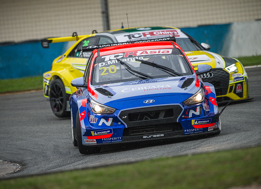 Daniel Miranda secures another TCR Asia Series victory in rain-hit Zhuhai