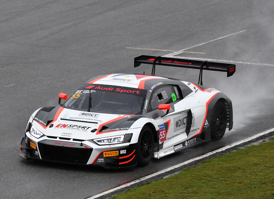 Vincent Floirendo marks Audi R8 LMS Cup comeback with podiums at Zhuhai