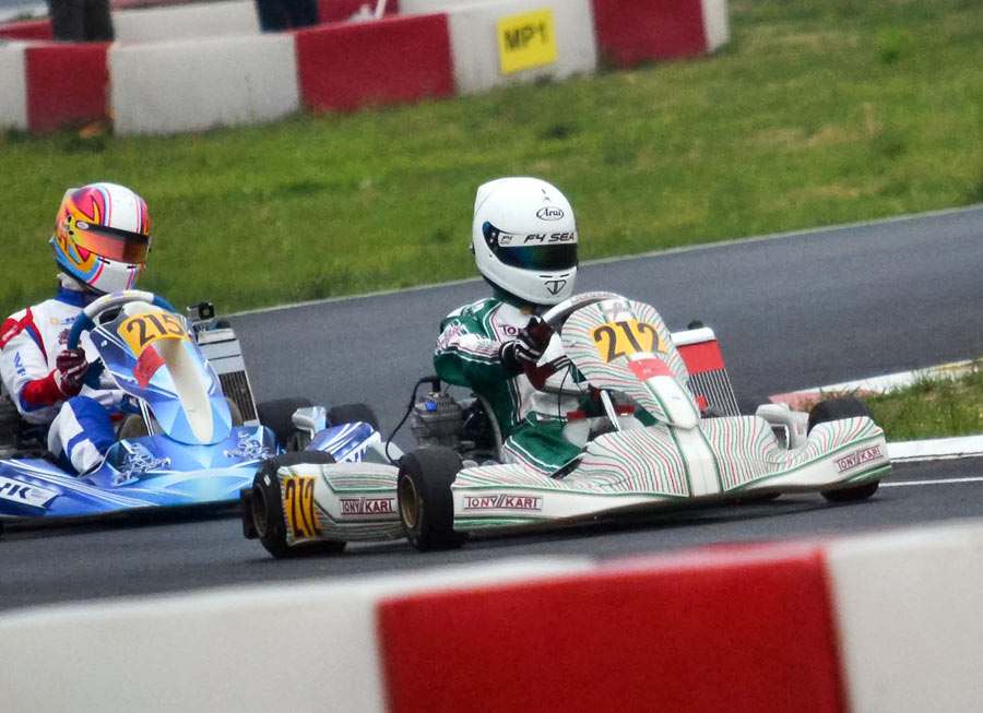 Kart problems plague John Dizon in AKOC season opener in Beijing