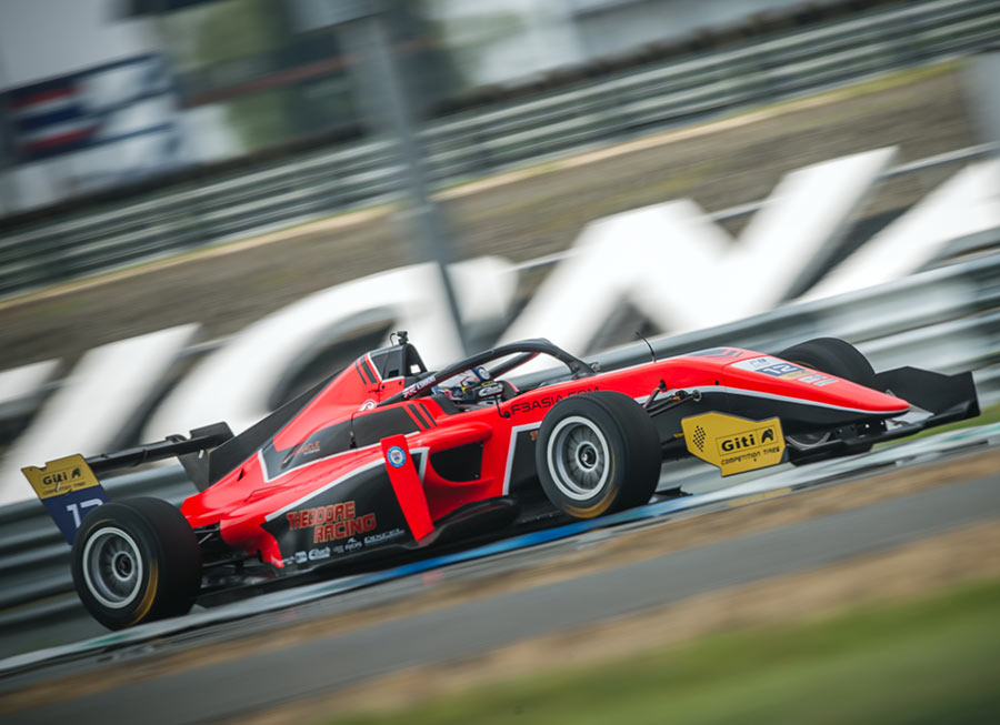 Pinnacle Motorsport yield improved results from F3 Asian outing in Buriram
