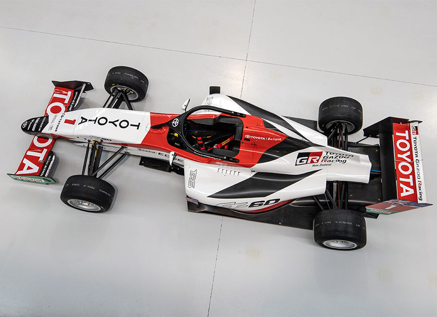 Toyota Racing Series NZ readies new FT-60 single-seater for 2020