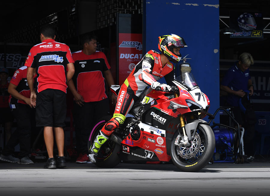Access Plus Racing-Ducati Ph-Essenza eager to race Panigale V4R at ARRC Suzuka