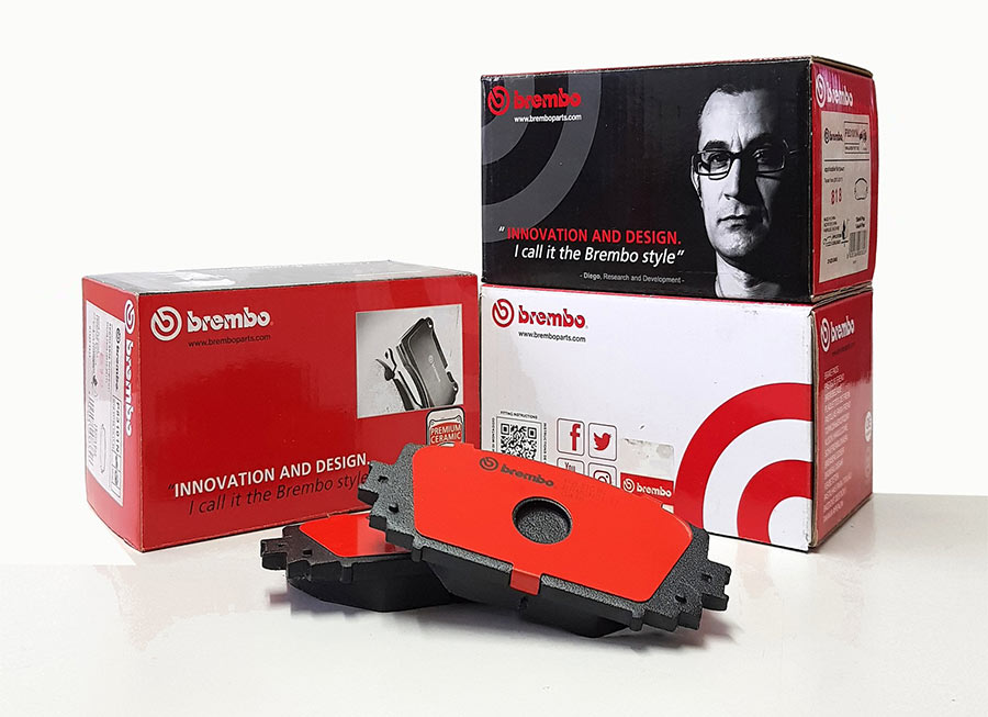 Brembo Ph now carries aftermarket Premium Ceramic Brake Pads