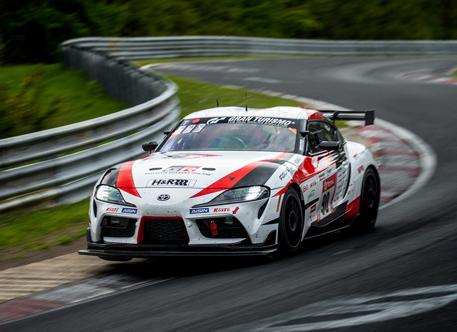 Guess who's driving the Toyota GR Supra at the Nürburgring 24 Hrs?