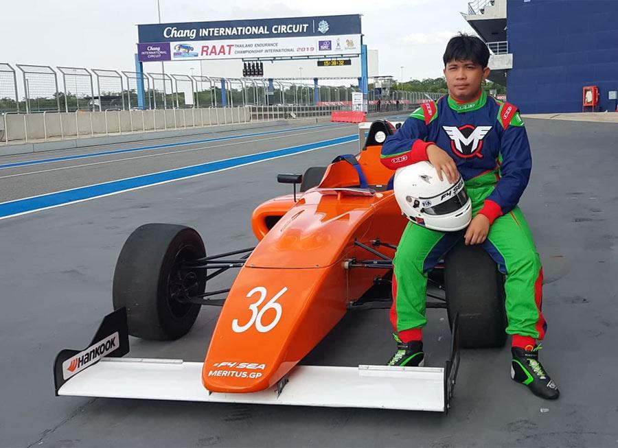 Miguel Quiñones completes first Formula 4 SEA test in Buriram