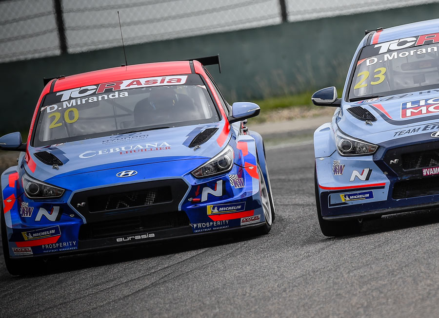 Daniel Miranda extend points lead after TCR Asia performance in Shanghai