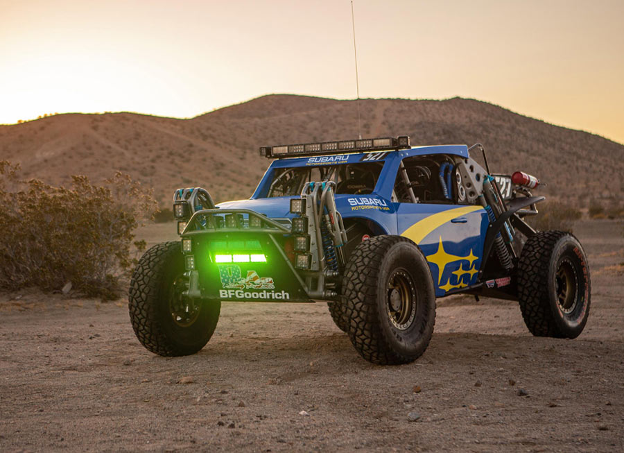 Subaru is racing a 'Crosstrek' across the desert in the Baja 500