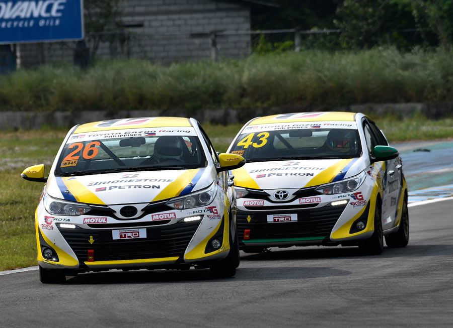 Toyota Team Cebu kicks off Vios Circuit C'ship with race win, podium finishes