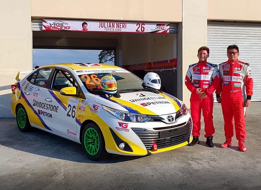 Toyota Team Cebu confirms 3-car entry for Vios Circuit Championship