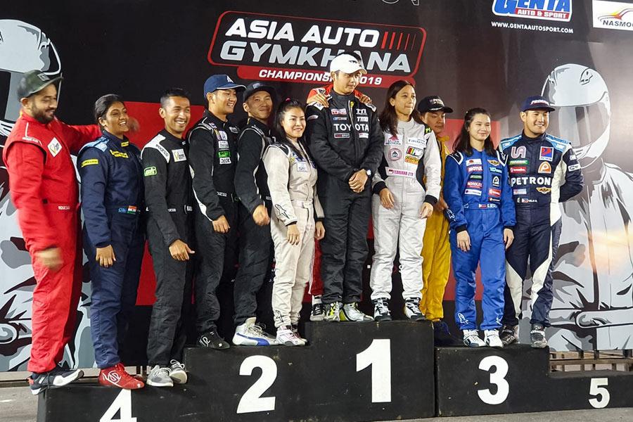 Asian Auto Gymkhana Championship