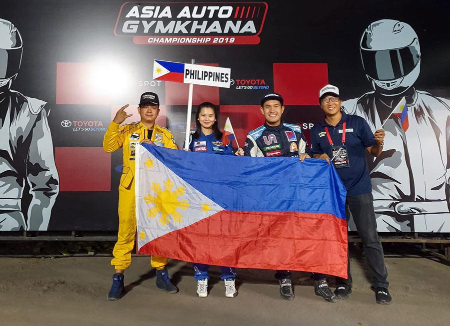 Team Philippines bags bronze in Asia Auto Gymkhana C'ship at Yogyakarta