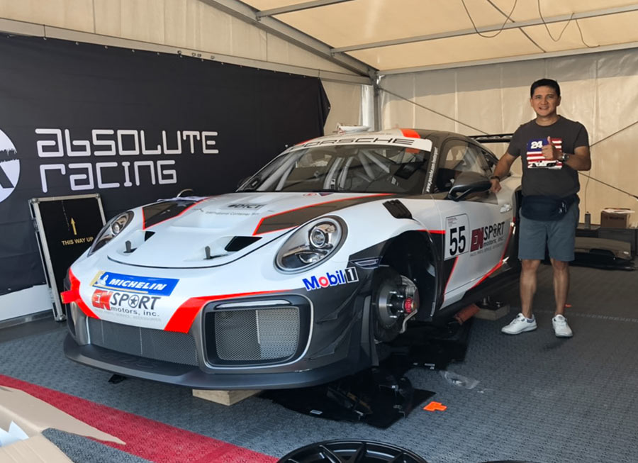 Vincent Floirendo confirmed to race new 911 GT2 RS Clubsport at Spa