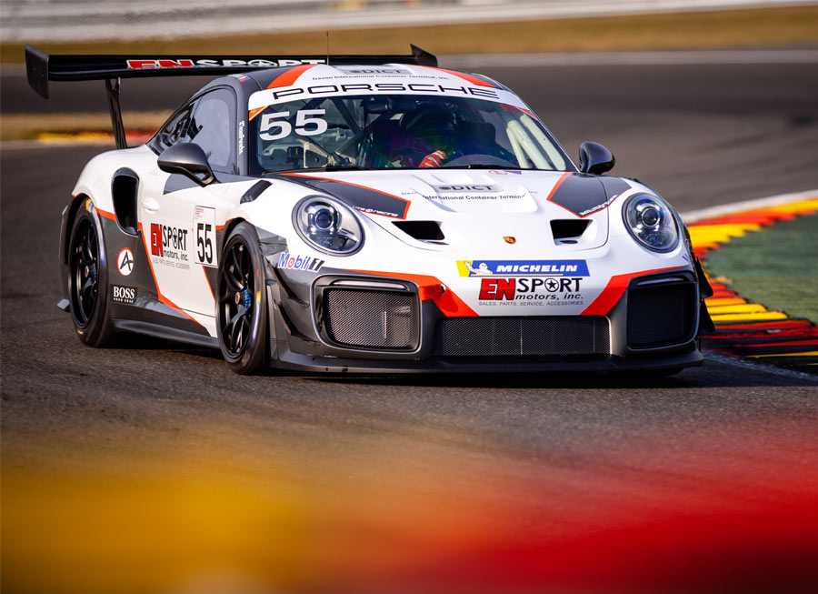 Vincent Floirendo delivers top 10 finish in Porsche 911 GT2 weekend at Spa