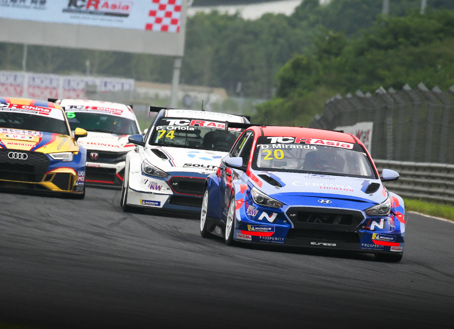 Daniel Miranda remains positive despite difficult TCR Asia race at Zhejiang