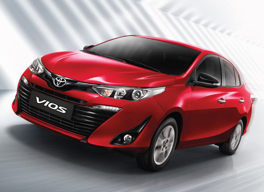 Toyota Vios sales in the Philippines now close to 2,500 units a month