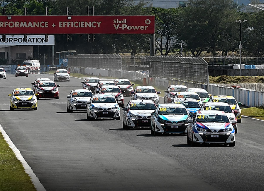 Vios Circuit Championship 2019 driver and team points after Rd. 1