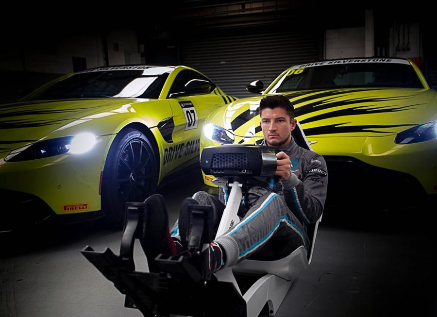 World's Fastest Gamer champ gets to race an Aston Martin in real life