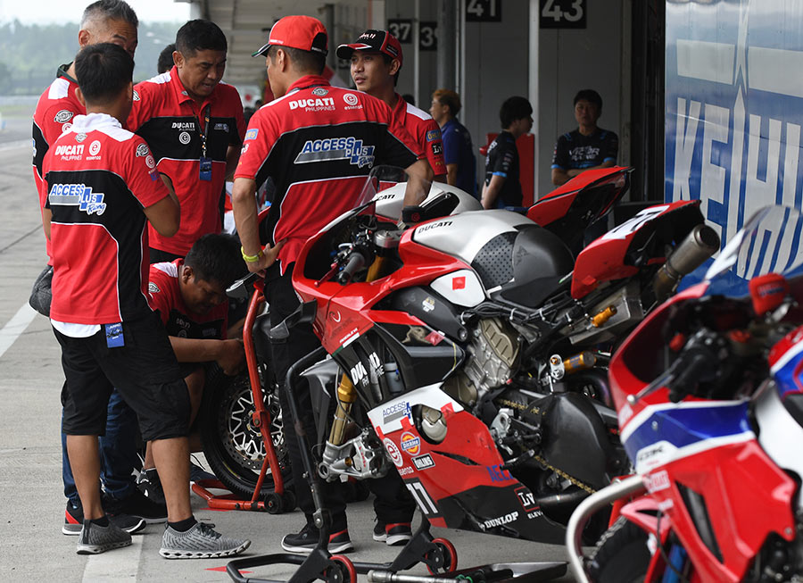 Access Plus Racing-Ducati Ph-Essenza to tap Panigale V4R advantage in Zhuhai