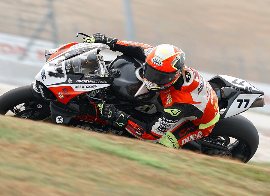 Access Plus-Ducati Ph-Essenza deliver season's best result in ASB1000 at Sepang