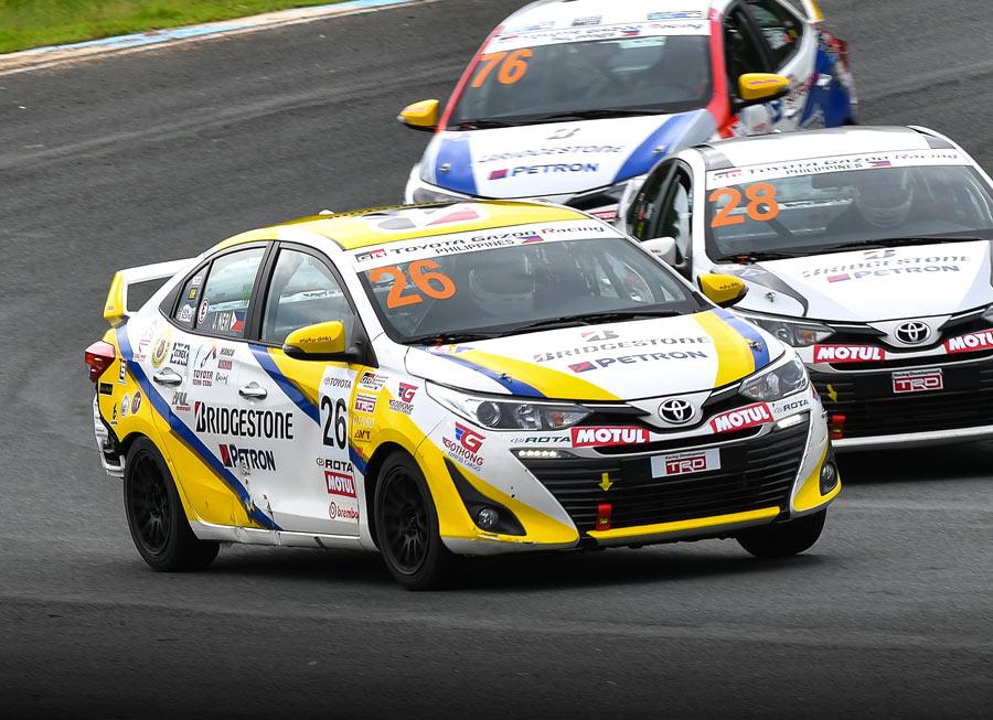 Toyota Team Cebu maintains strong momentum in Vios Circuit C'ship Rd. 2