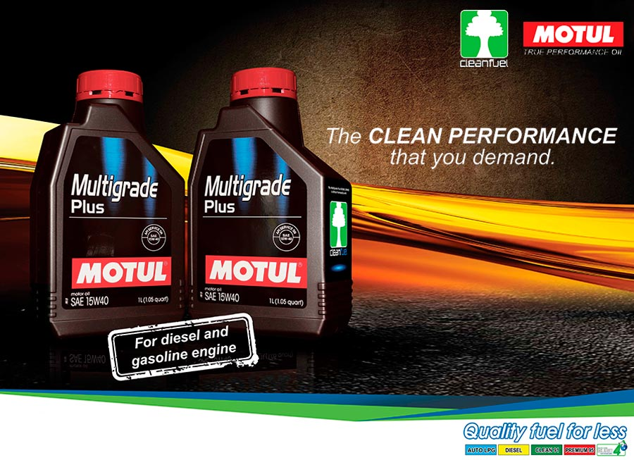 Motul's new partnership to supply lubricants in Cleanfuel stations nationwide