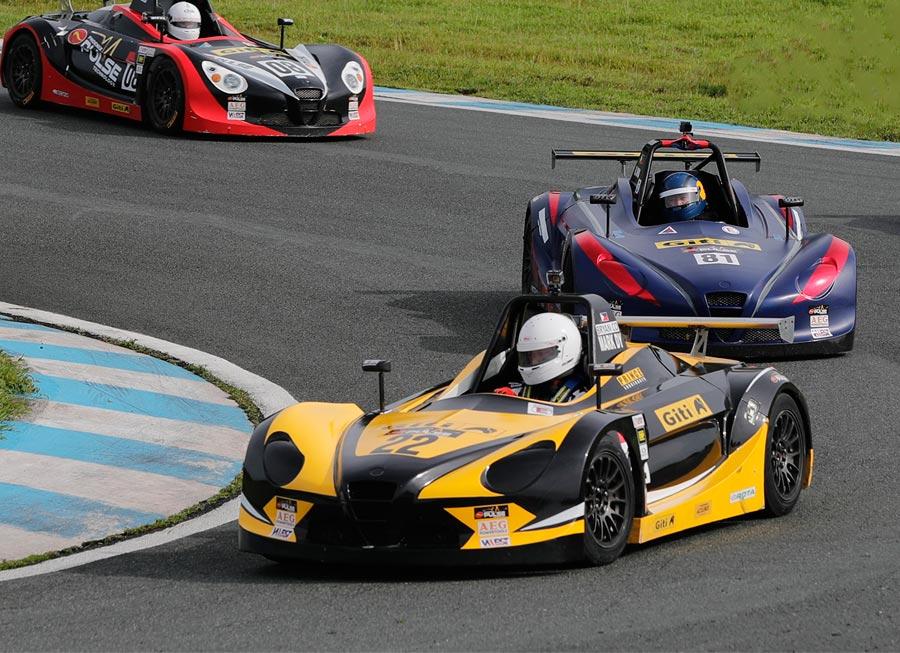 Giti-Formula V1 2019 drivers' championship points after Rd. 2