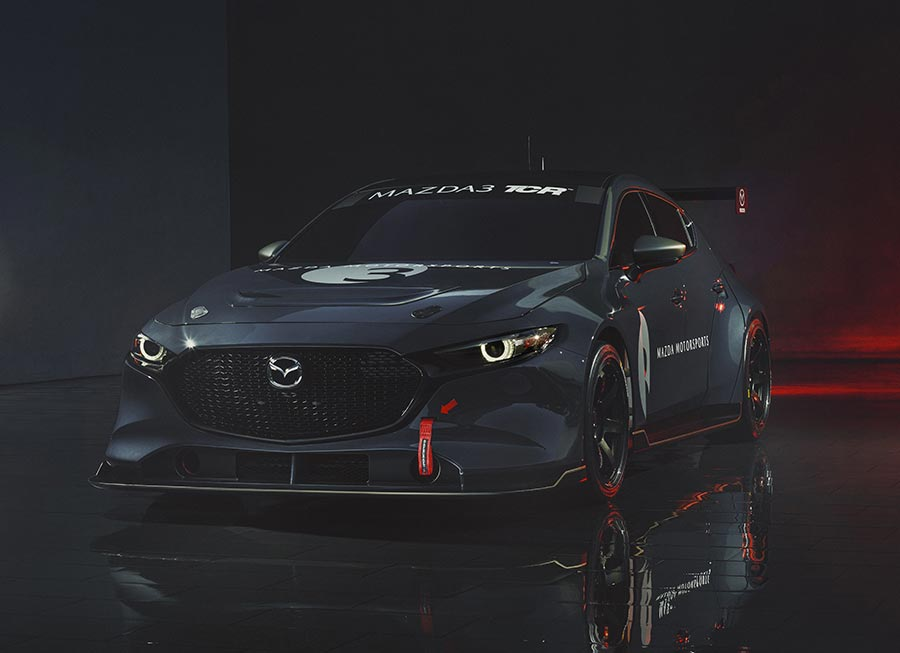 The Mazda3 Sportback will be ready-to-race in TCR by 2020