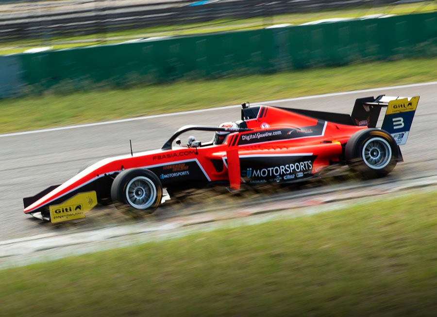 Pinnacle Motorsport delivers strong end to F3 Asian 2019 season in Shanghai