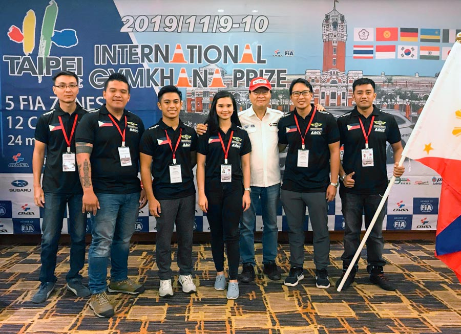 Team Philippines back in the fight at Taipei International Gymkhana Prix