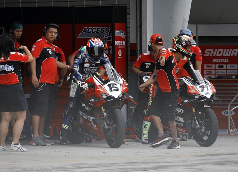 Alberto, Sandi to headline Access Plus-Ducati Ph-Essenza in ASB1000 season finale