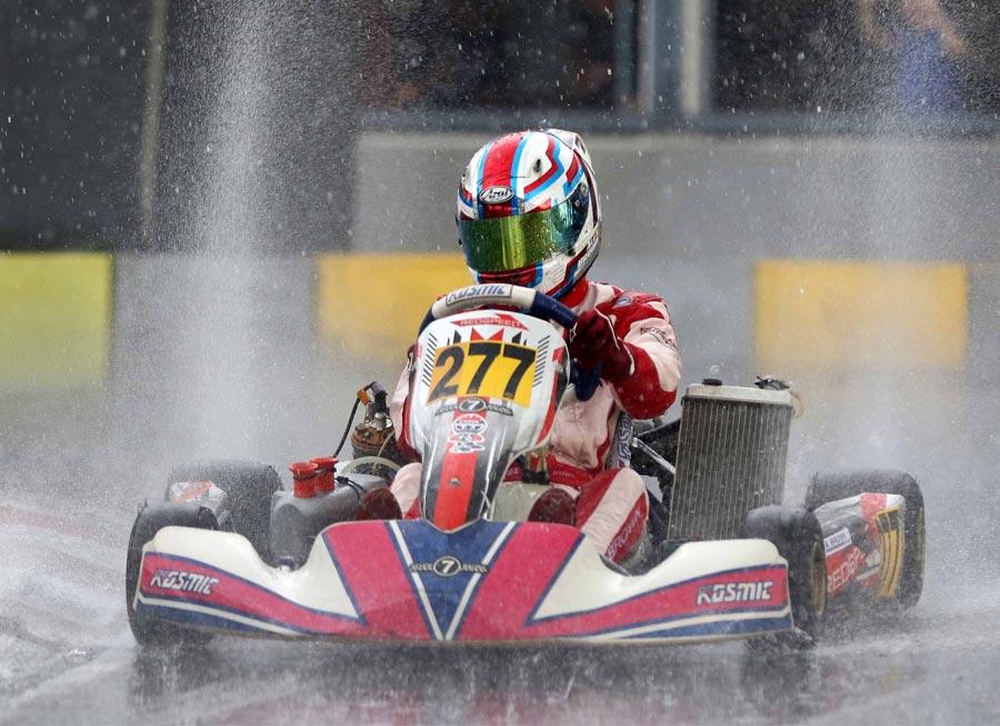 Alex Brown takes ROK Cup SG Senior title on comeback drive since FV1 crash