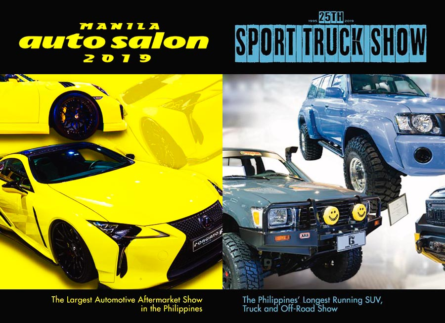 Manila Auto Salon + Sport Truck Show to coincide with Tacs Expo this week
