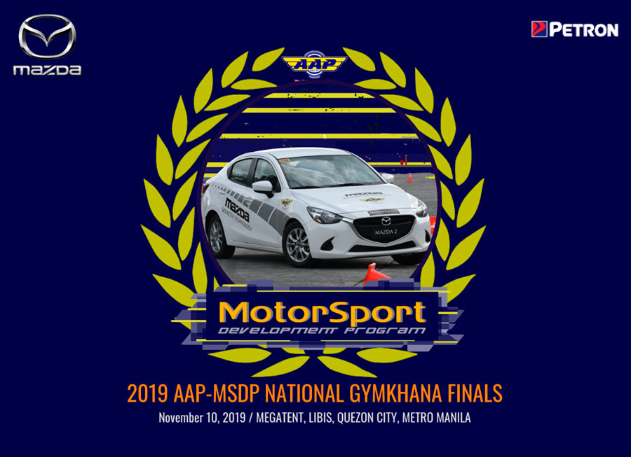 Philippines' best drivers to battle at AAP-MSDP National Gymkhana Finals 2019