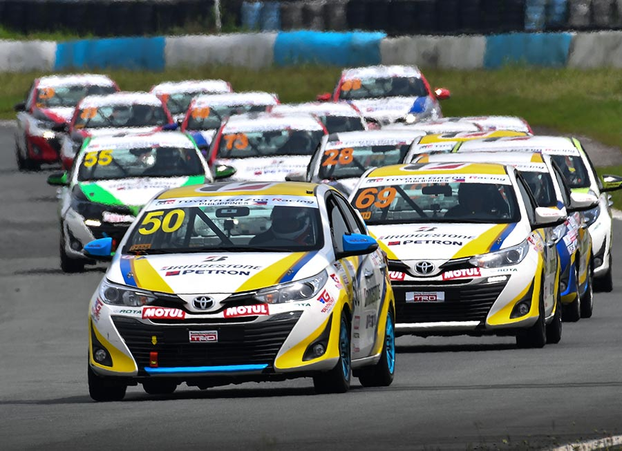 Toyota Team Cebu content to close Vios OMR season with win and podium