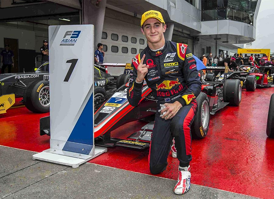 Pinnacle Motorsport pulls off pole-to-flag win at F3 Asian curtain raiser in Sepang